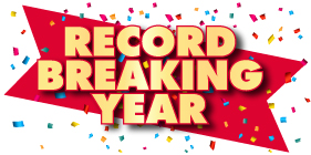 RECORD BREAKING YEAR