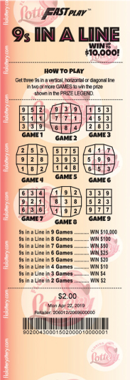 Florida Lottery - FastPlay
