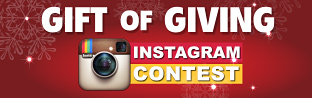 Gift of Giving - Instagram Contest