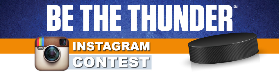 BE THE THUNDER - Instagram Contest