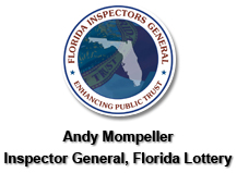 Andy Mompeller, Inspector General, Florida Lottery