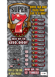 1307-SUPER 7s Scratch-Off Ticket