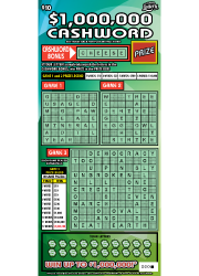 1314-$1000000 CASHWORD Scratch-Off Ticket