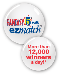 FANTAZY 5 with EZmatch -- More than 12,000 winners a day!