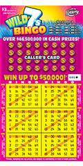 Wild 7s Bingo Scratch-Off Ticket