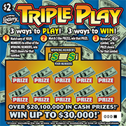 1320-Triple Play Scratch-Off Ticket