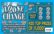 1328-Loose Change Scratch-Off Ticket