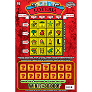 1340-$30,000,000 Loteria Scratch-off Ticket