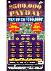 1397-$5 $5000,000 Payday