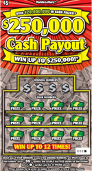 1133 $250000 CASH PAYOUT