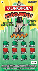 1152 $500,000 MONOPOLY™