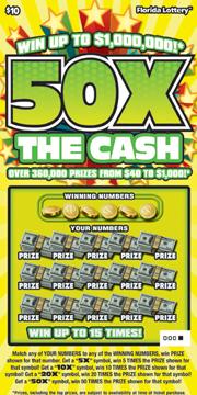 1162 50X THE CASH