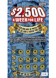 1183 $2500 A WEEK FOR LIFE
