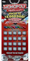 1195 $20 MONOPOLY™ MILLIONAIRE