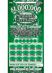 1213 $1,000,000 SEASONS GREETINGS