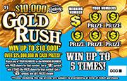 1258 $10,000 GOLD RUSH