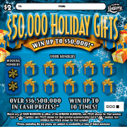 1290 $50,000 HOLIDAY GIFTS