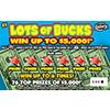 1300 LOTS OF BUCKS