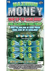 1318 MAXIMUM MONEY