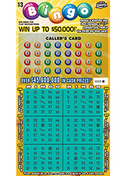 Bingo scratch card prizes left on lottery