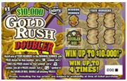 1332 $10,000 GOLD RUSH DOUBLER