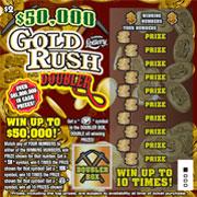 1333 $50,000 GOLD RUSH DOUBLER