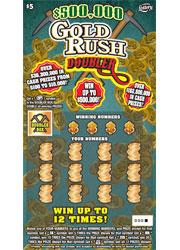 1334 $500,000 GOLD RUSH DOUBLER
