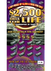 1352 $2,500 A WEEK FOR LIFE