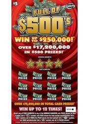 1358 FULL OF $500
