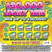 1377 $30,000 LUCKY WIN