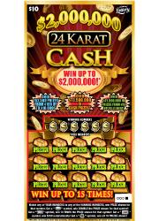 1383 $2,000,000 24 KARAT CASH