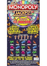 1391 $10 MONOPOLY JACKPOT