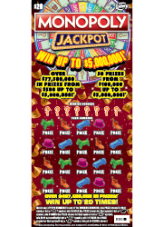 1398 $20 MONOPOLY JACKPOT