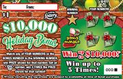 1399 $10,000 Holiday Bonus