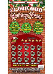 1402 $2,000,000 Holiday Bonus