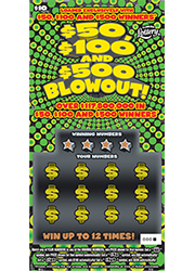 1418 $50, $100 AND $500 BLOWOUT!