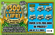 1423 $500 A WEEK FOR LIFE!