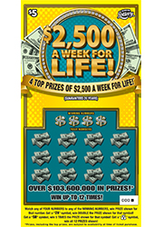 1425 $2,500 A WEEK FOR LIFE!