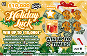 1435 $10,000 Holiday Luck