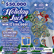 1436 $50,000 Holiday Luck