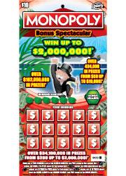 1462 $10 MONOPOLY BONUS SPECT