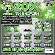 1467 20X THE CASH