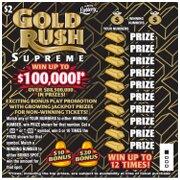 1479 $2 GOLD RUSH SUPREME
