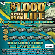 1491 $1,000 A WK FOR LIFE