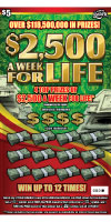1492 $2,500 A WK FOR LIFE