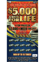 1493 $5,000 A WK FOR LIFE