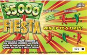5005 $5,000 FIESTA